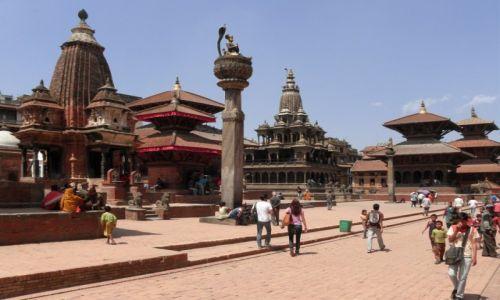 Zdjęcie NEPAL / Dolina Katmandu / Patan, Durbar Square / Królewski Patan 1