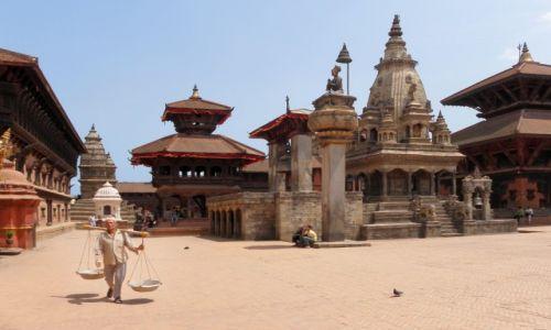 Zdjęcie NEPAL / Dolina Katmandu / Bhaktapur, Durbar Sqare / Bhaktapur 2