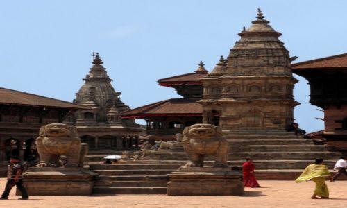 Zdjęcie NEPAL / Dolina Katmandu / Bhaktapur, Durbar Sqare / Bhaktapur 3