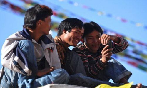 Zdjecie NEPAL / Kathmandu / Stupa Bouddanath / kumple