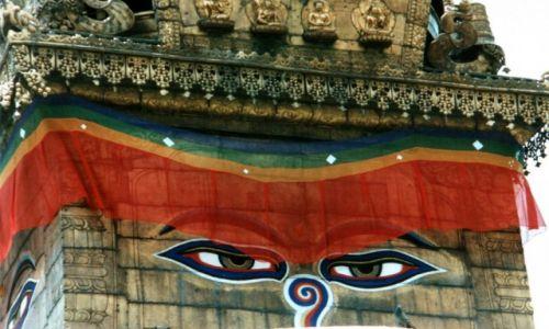 Zdjecie NEPAL / Kathmanu / Kathmandu / Widzę was