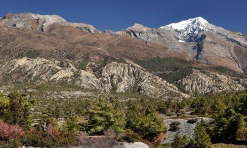 Zdjęcie NEPAL / Annapurna Round Trek / okolice Humde / Pisang Peak 6091m
