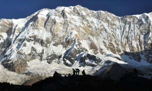 Zdjecie NEPAL / Annapurna / Base Camp 4130m / Annapurna I 8091m