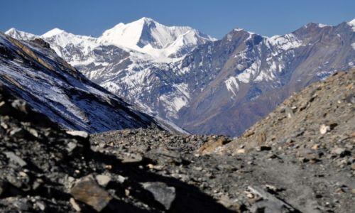 Zdjęcie NEPAL / Annapurna Round Trek / widok z zejścia z Thorung La / Dhaulagiri II 7751
