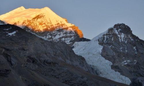 Zdjęcie NEPAL / Annapurna Round Trek / Thorung High Camp 4900m / Purbung Himal 6500m
