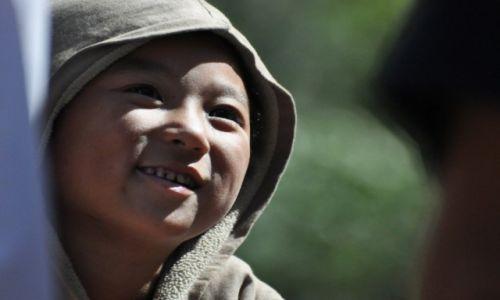 Zdjęcie NEPAL / Annapurna Round Trek / Tal / dzieciak