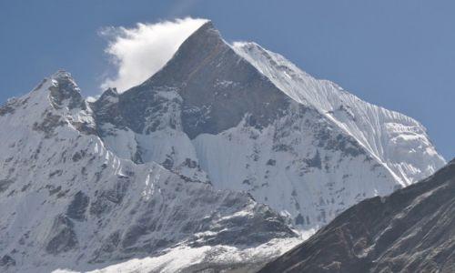 Zdjęcie NEPAL / Annapurna range / A.B.C / Swięta gora Nepalu