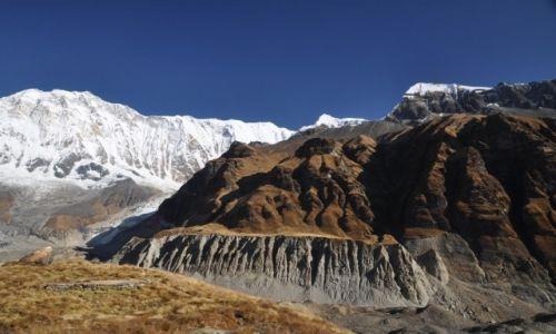 Zdjęcie NEPAL / Annapurna Range / A.B,C. / Widok z Annapurna Base Camp