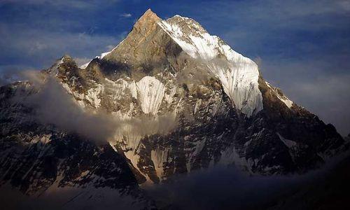NEPAL / Annapurna / Trekking w rejonie Annapurna / Machhapuchre