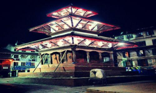 Zdjecie NEPAL / Kathmandu / Basantapur Durbar Square / Basantapur Durbar Square