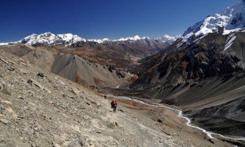 NEPAL / okolice jeziora Tilicho  / zejście do Base Camp / konkurs