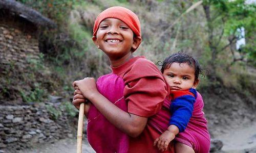 Zdjecie NEPAL / Annapurna / Trekking w rejonie Annapurna / Oblicza Nepalu