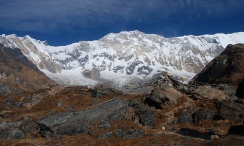 NEPAL / Annapurna Conservation Area / Annapurna Base Camp / KONKURS - Królowa Annapurna