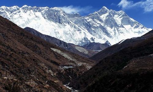 NEPAL / Himalaje / Trekking w rejonie Mount Everestu / Lhotse i Mount Everest