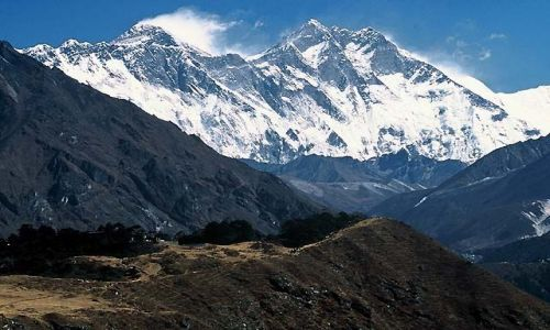 NEPAL / Himalaje / Trekking w rejonie Mount Everestu / Lhotse 8511 i Mount Everest 8848 m