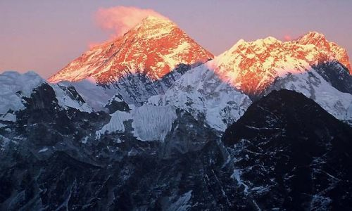 NEPAL / Himalaje / Trekking w rejonie Mount Everestu / Mount Everst 8848