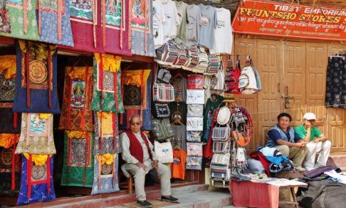 Zdjecie NEPAL / - / Kathmandu / Handel