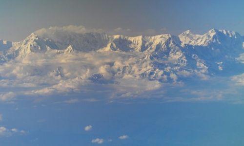 Zdjęcie NEPAL / brak / z samolotu Kathmandu-Delhi / Masyw Annapurny