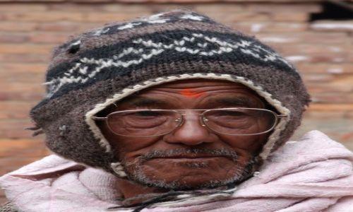 Zdjecie NEPAL / Dolina Katmandu / Katmandu / Portret Nepalczyka