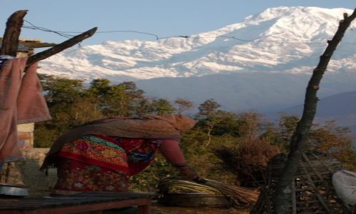 Zdjecie NEPAL / Pokhara / Sarangkot / ***