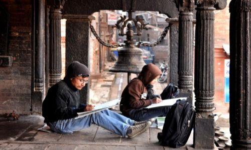 Zdjęcie NEPAL / - / Nepal / Studenci