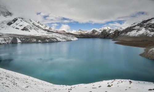 NEPAL / Annapurna / jezioro Tilicho / Tilicho lake