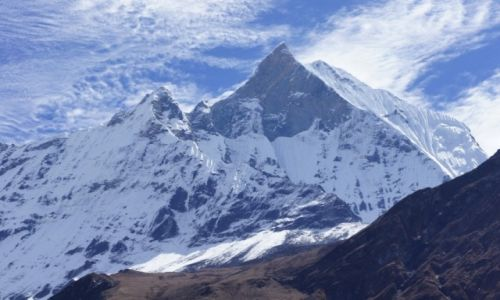 Zdjęcie NEPAL / Annapurna Range / MBC / Machhapuchhare 6993 mnpm