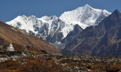 Zdjecie NEPAL / Langtang / Kyanjin Gompa / Ganchenpo 6380m