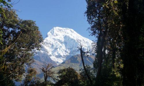 NEPAL / Annapurna Range / Ghorepani / Annaporna Południowa 7219m.n.p.m.