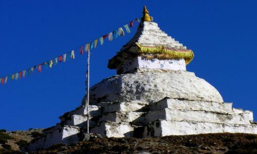 Zdjecie NEPAL / khumbu / Khumbu / Stupa