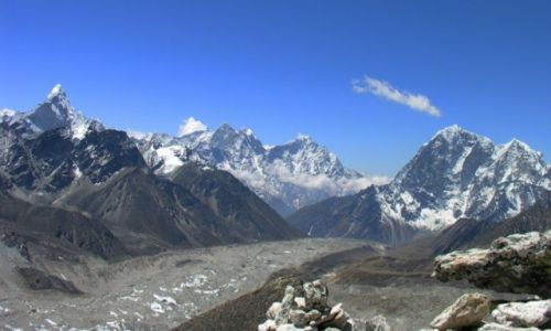 NEPAL / khumbu / Khumbu / Panorama Himalaje