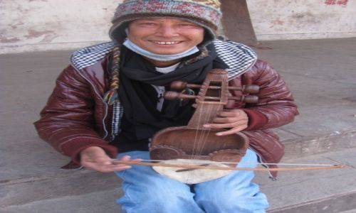 Zdjęcie NEPAL / azja / nepal / grajek
