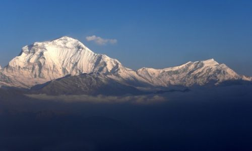 Zdjecie NEPAL / Annapurna Conservation Area / Poon Hill (3193 m) / Dhaulagiri (8167 m)
