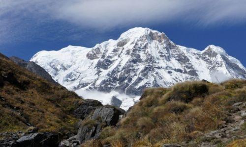 Zdjęcie NEPAL / Annapurnna Range / W drodze do ABC / Annapurnna  S