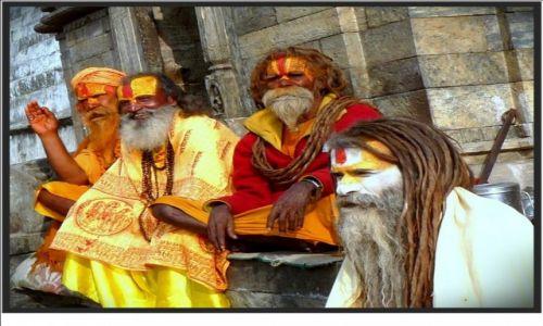 Zdjecie NEPAL / - / Kathmandu / Święci mężowie