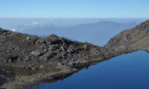 Zdjęcie NEPAL / Langtang National Park / Jezioro Gosainkunda 4380m.n.p.m. / Konkurs - Tam wrócę