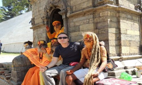 Zdjecie NEPAL / Kathmandu /  Pashupatinath / \
