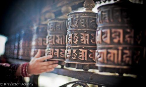 Zdjęcie NEPAL / -Kathmandu / Kathmandu / bebnt moglitewne