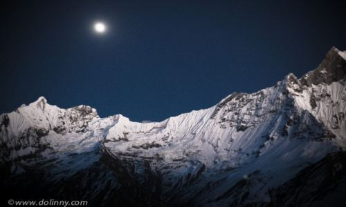 Zdjęcie NEPAL / Anapurna / Annapurna base camp / Widok z Annapurna base camp