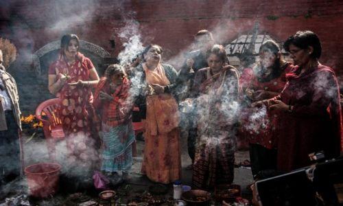Zdjecie NEPAL / dolina Kathmandu / Changunarayan / wiedźmy