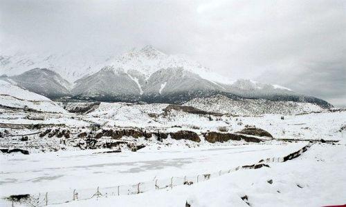 Zdjecie NEPAL / brak / Jomson Trek / Jomson w śniegu