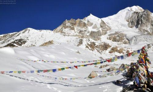 NEPAL / Manaslu / Larka Pass 5160m / Larka Peak 6249m