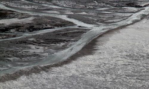 Zdjecie NEPAL / Langtang / Okolice Kyanjin Gompa / Rozlewisko rzeki Langtang
