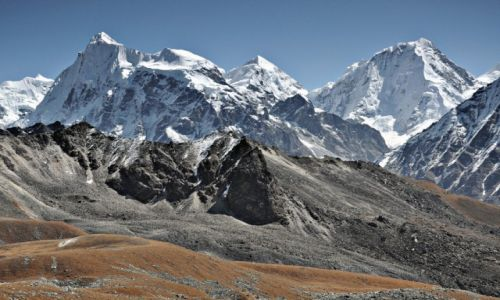 NEPAL / Langtang / Tsergo Ri / Langshisa Ri i Dorje Lakpa