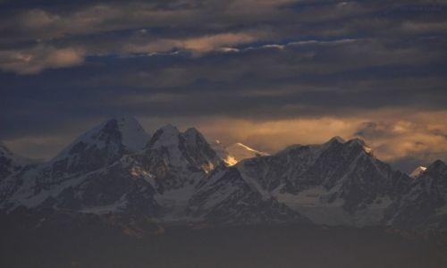 Zdjecie NEPAL / Dolina Kathmandu / widok z Nagarkot / Dorje Lakpa 6966m