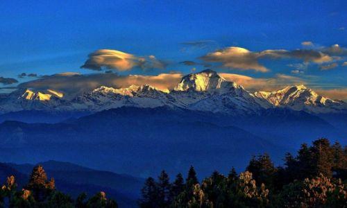 Zdjęcie NEPAL / Manang / Poon Hill / Dhaulagiri II-V, Dhaulagiri iTukuche Peak z Poon Hill
