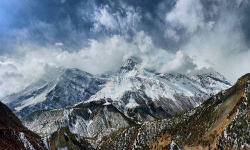 Zdjecie NEPAL / Manang / Manang /  Masyw Annapurny.