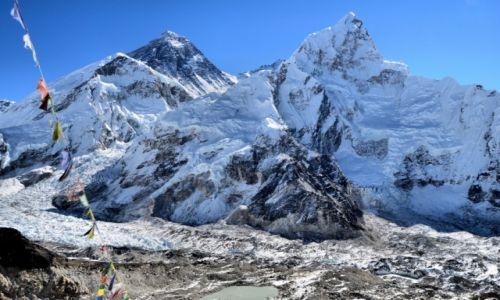 Zdjecie NEPAL / - / Kalla Pattar / Widok na Everest i Nupste