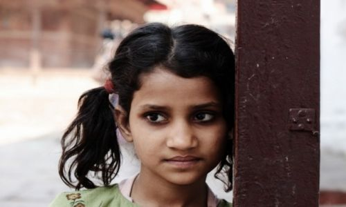 Zdjecie NEPAL / Dolina Kathmandu / Kathmandu / Dzieci Kathmandu