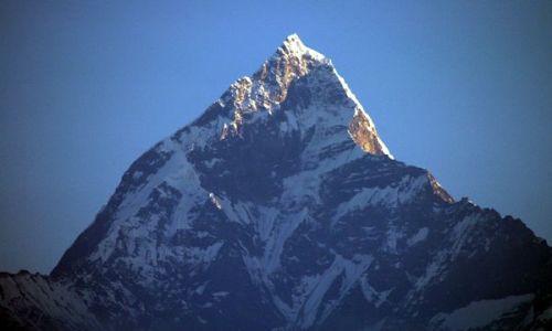 Zdjecie NEPAL / brak / Himalaje / Machapuchare - Święta góra Nepalu